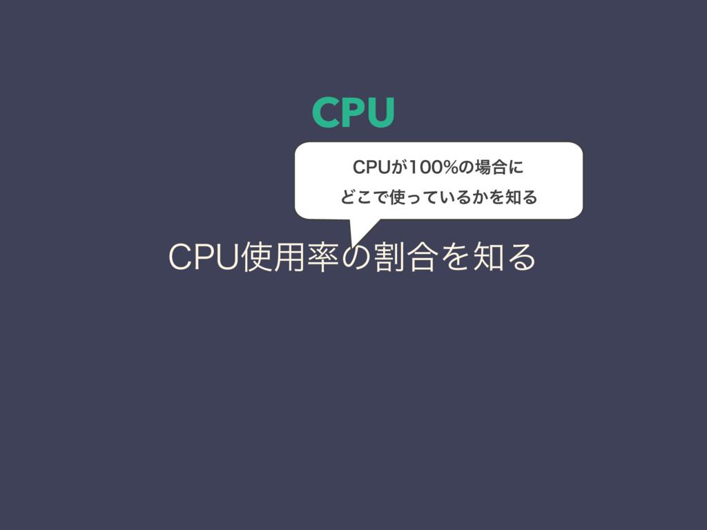 CPU $16༻ͷׂ߹ΛΔ $16͕ͷ߹ʹ Ͳ͜Ͱ͍ͬͯΔ͔ΛΔ