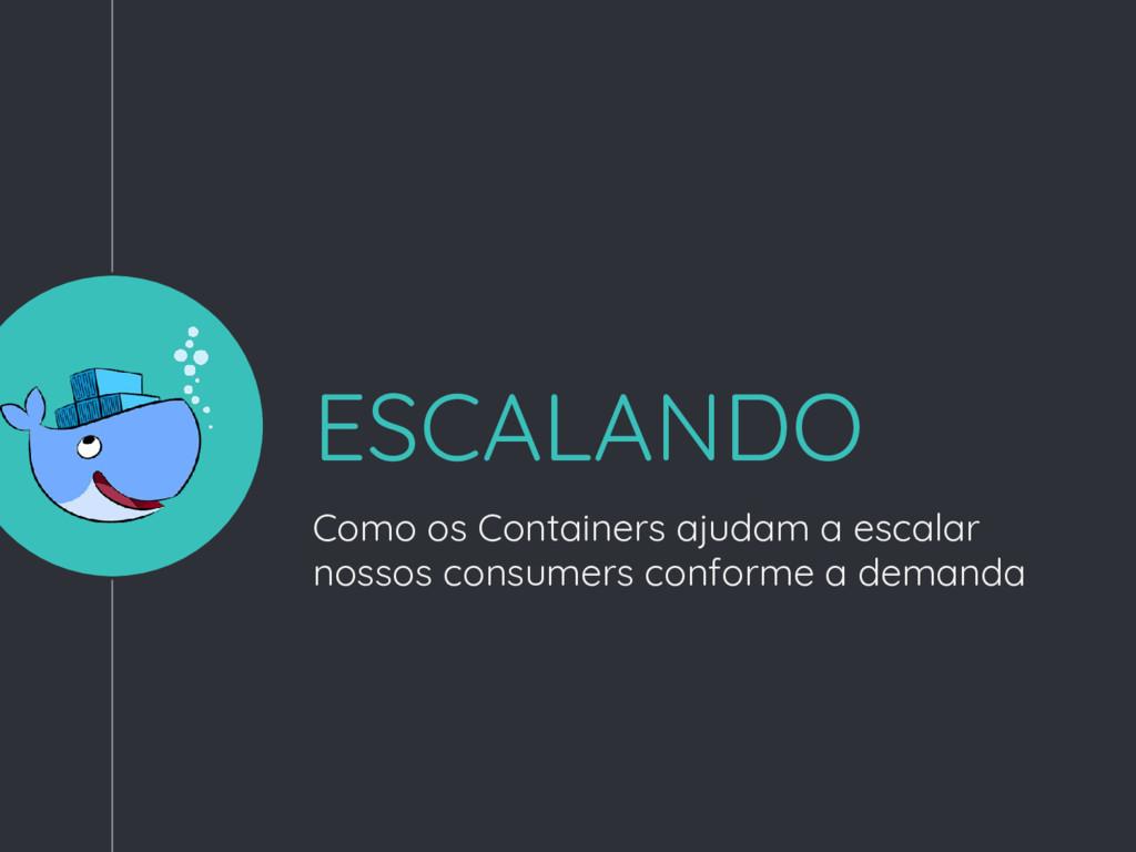 ESCALANDO Como os Containers ajudam a escalar n...
