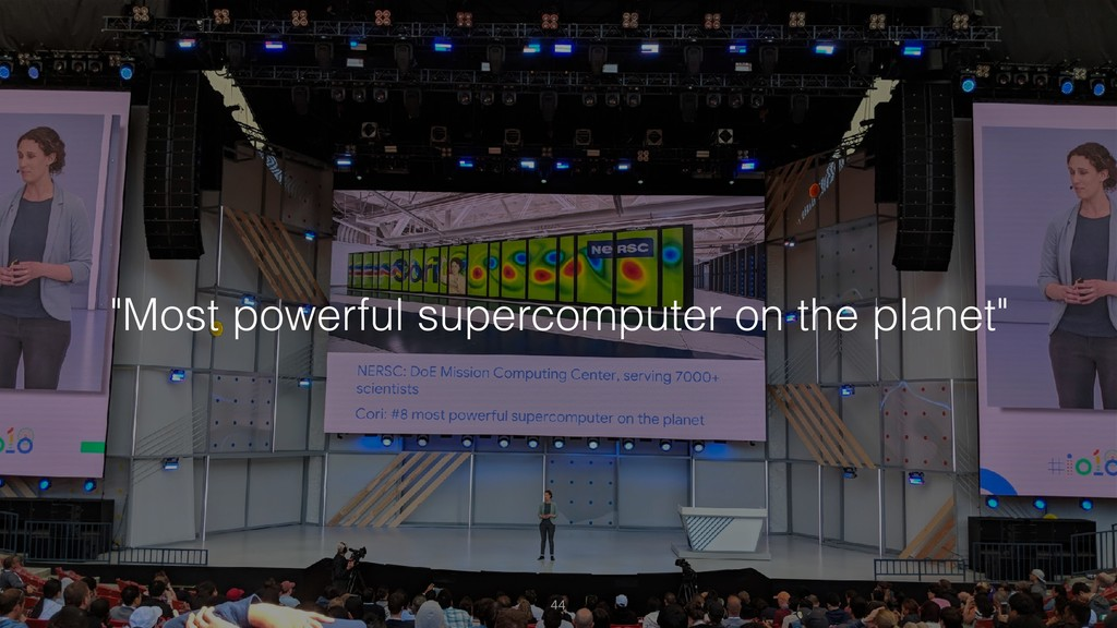"""Most powerful supercomputer on the planet"""