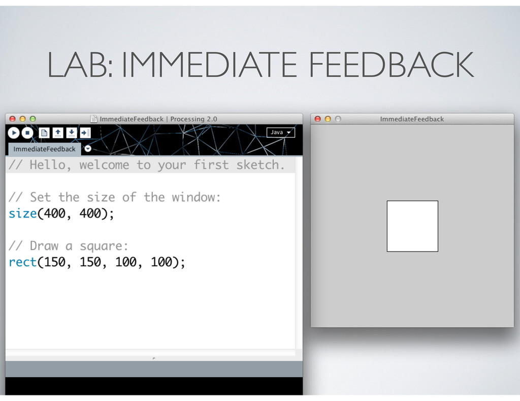 LAB: IMMEDIATE FEEDBACK
