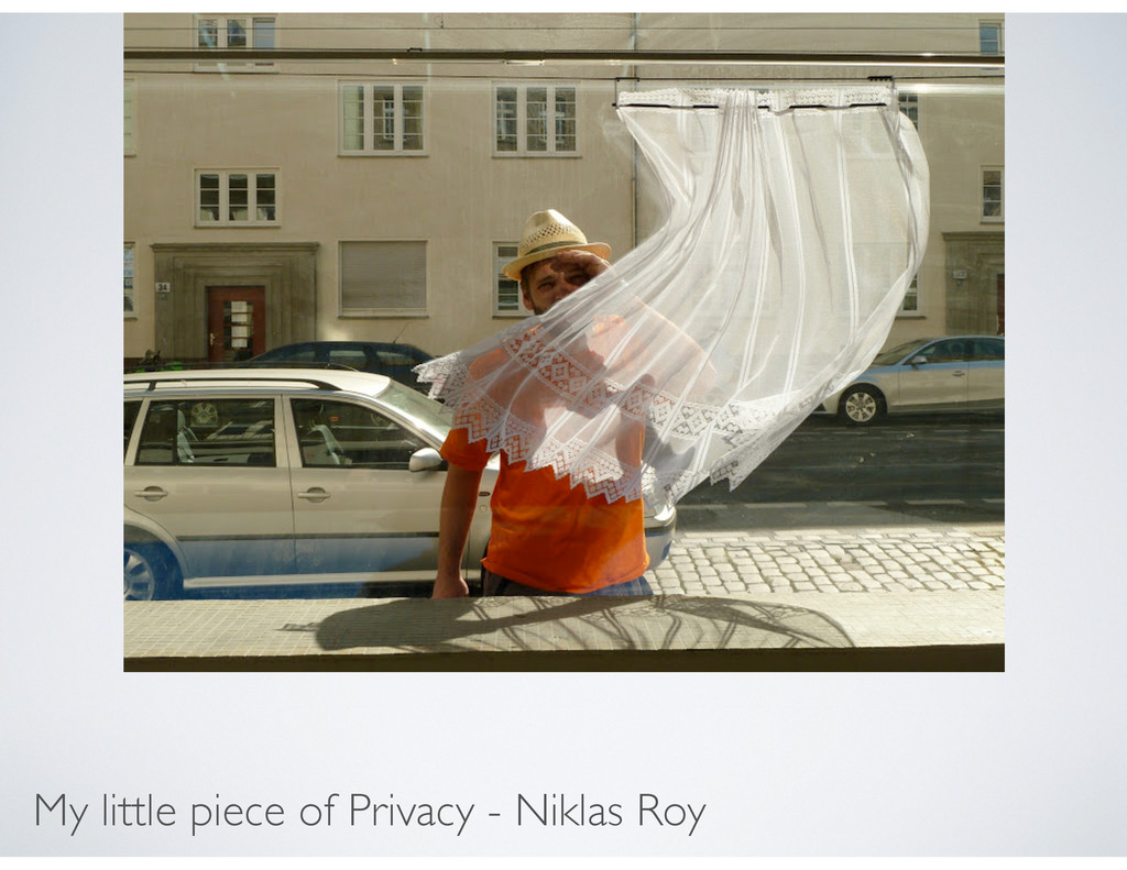 My little piece of Privacy - Niklas Roy