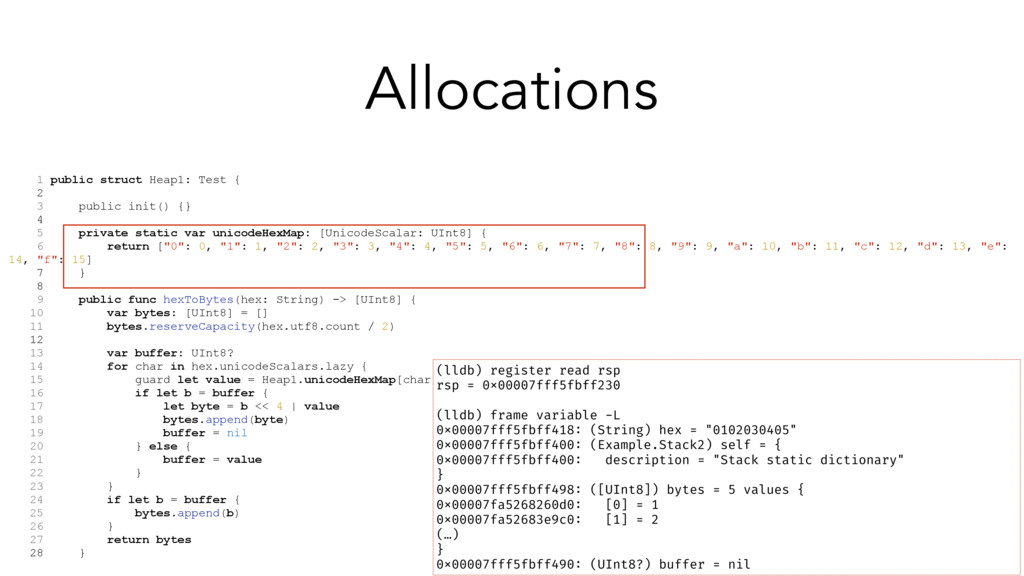 1 public struct Heap1: Test { 2 3 public init()...