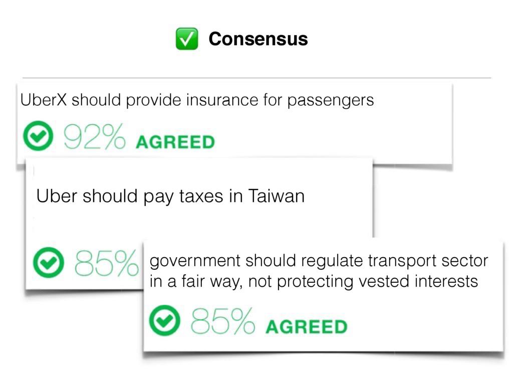 UberX should provide insurance for passengers U...