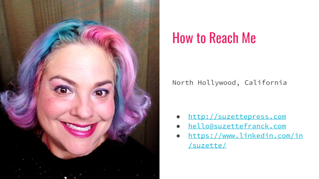 How to Reach Me North Hollywood, California ● h...