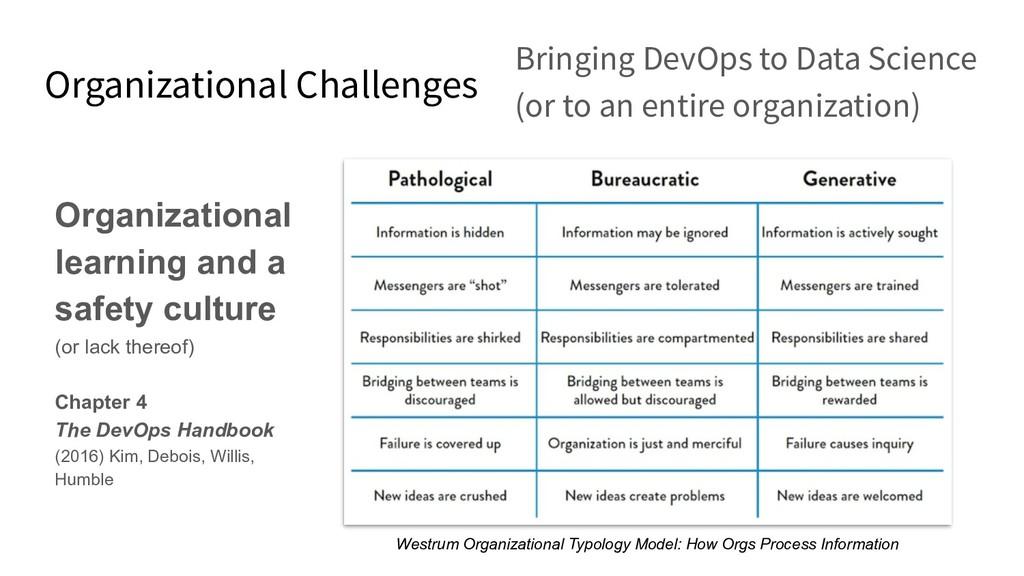 Organizational Challenges Bringing DevOps to Da...