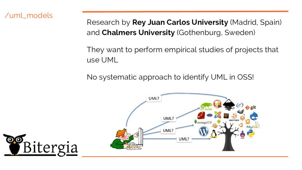 /uml_models Research by Rey Juan Carlos Univers...