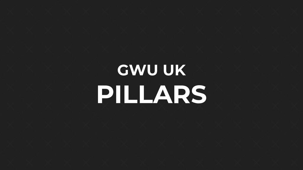 GWU UK PILLARS