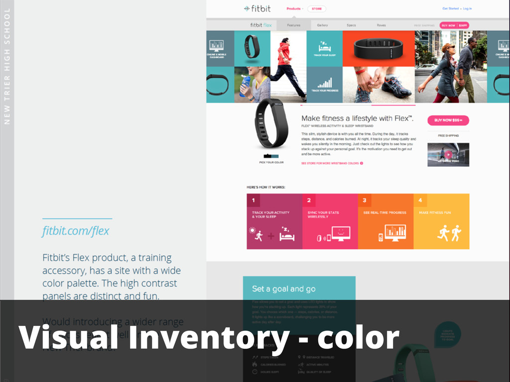 Visual Inventory - color