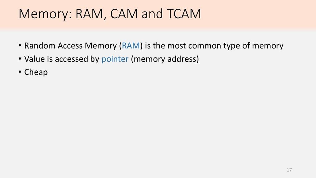 17 • Random Access Memory (RAM) is the most com...