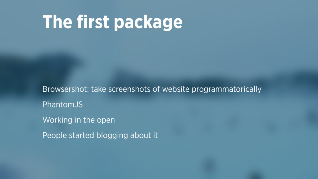 Browsershot: take screenshots of website progra...