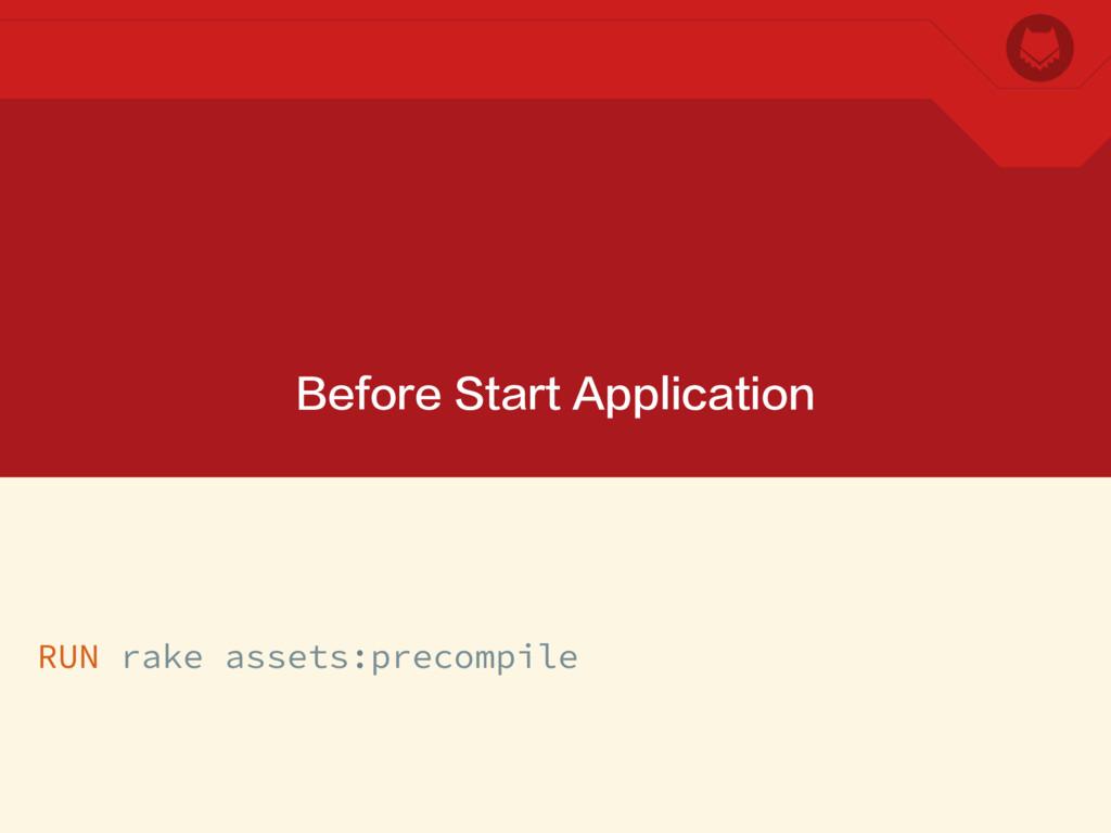 Before Start Application RUN rake assets:precom...