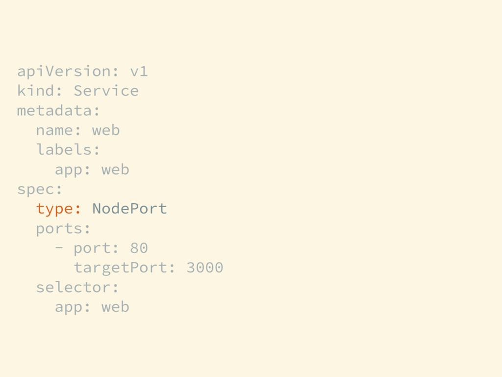 apiVersion: v1 kind: Service metadata: name: we...