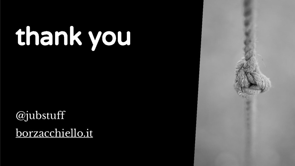 The standard Loop thank you @jubstuff borzacchi...