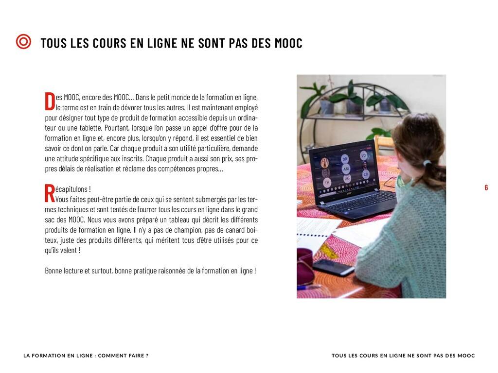 Des MOOC, encore des MOOC… Dans le petit monde ...