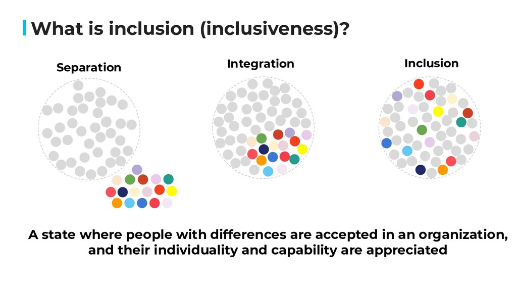 What is inclusion (inclusiveness)? Integration ...