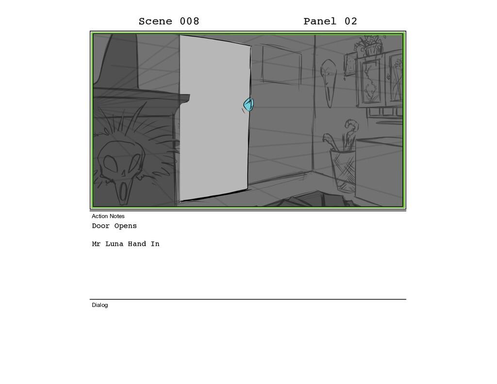 Door Opens Mr Luna Hand In Scene 008 Panel 02 D...