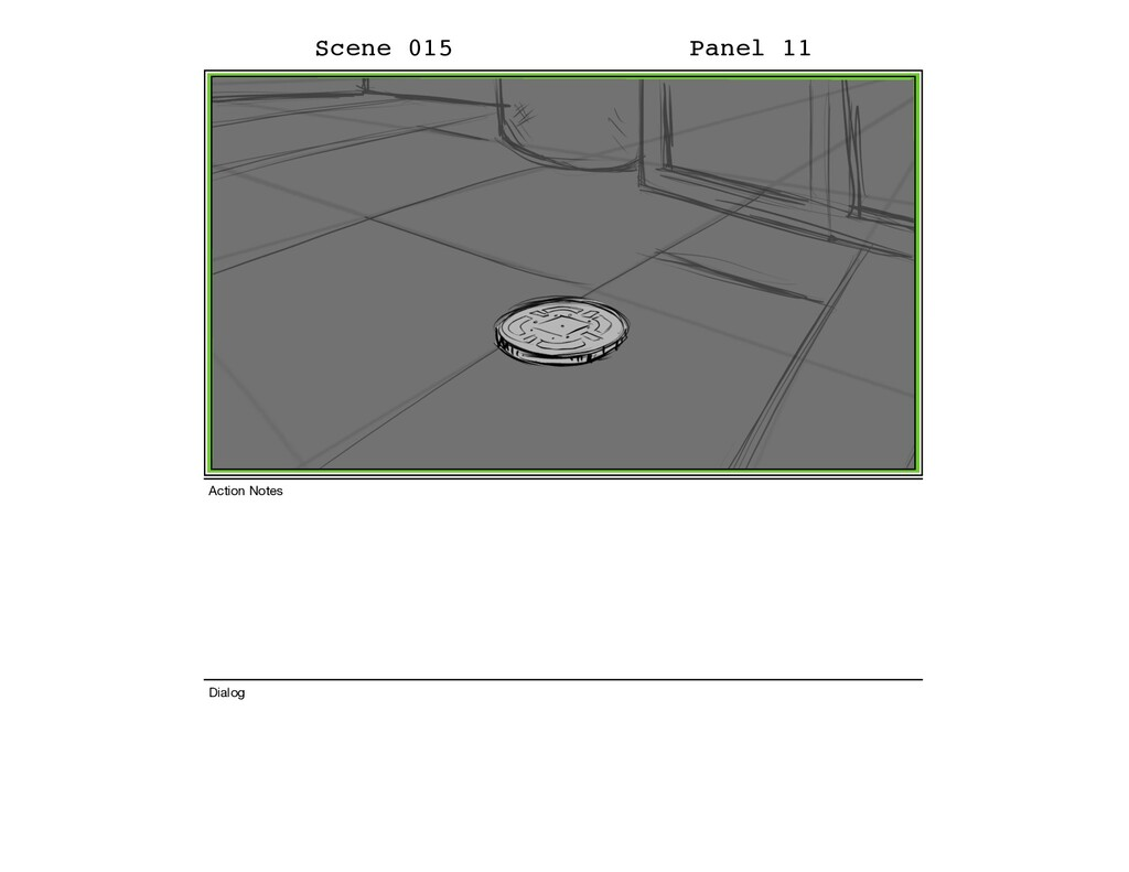 Scene 015 Panel 11 Dialog Action Notes