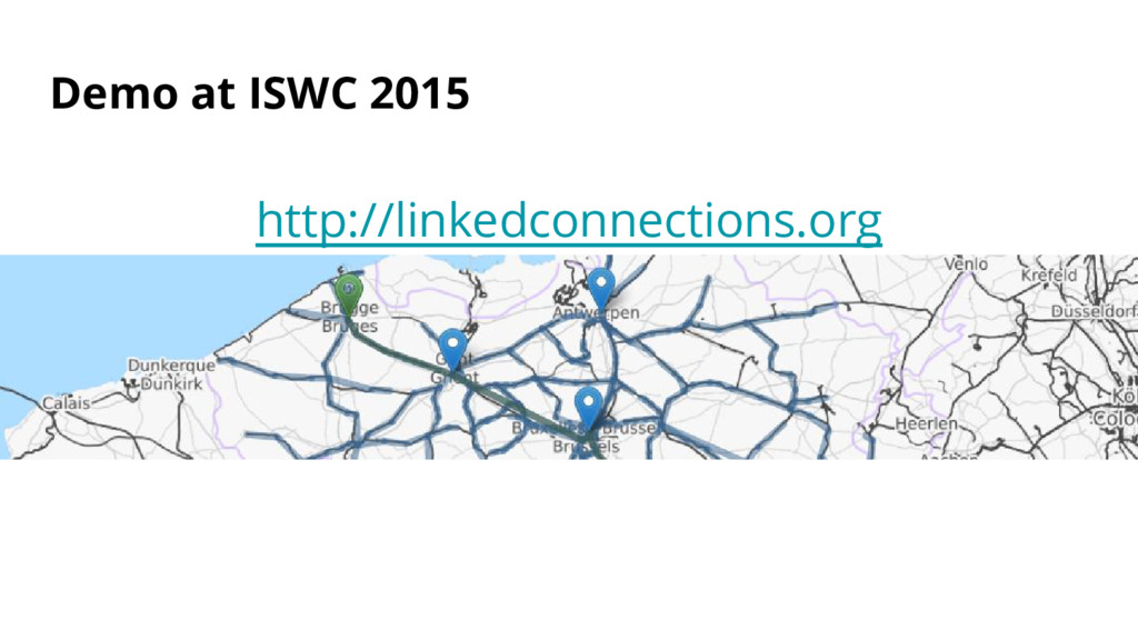 Demo at ISWC 2015 http://linkedconnections.org