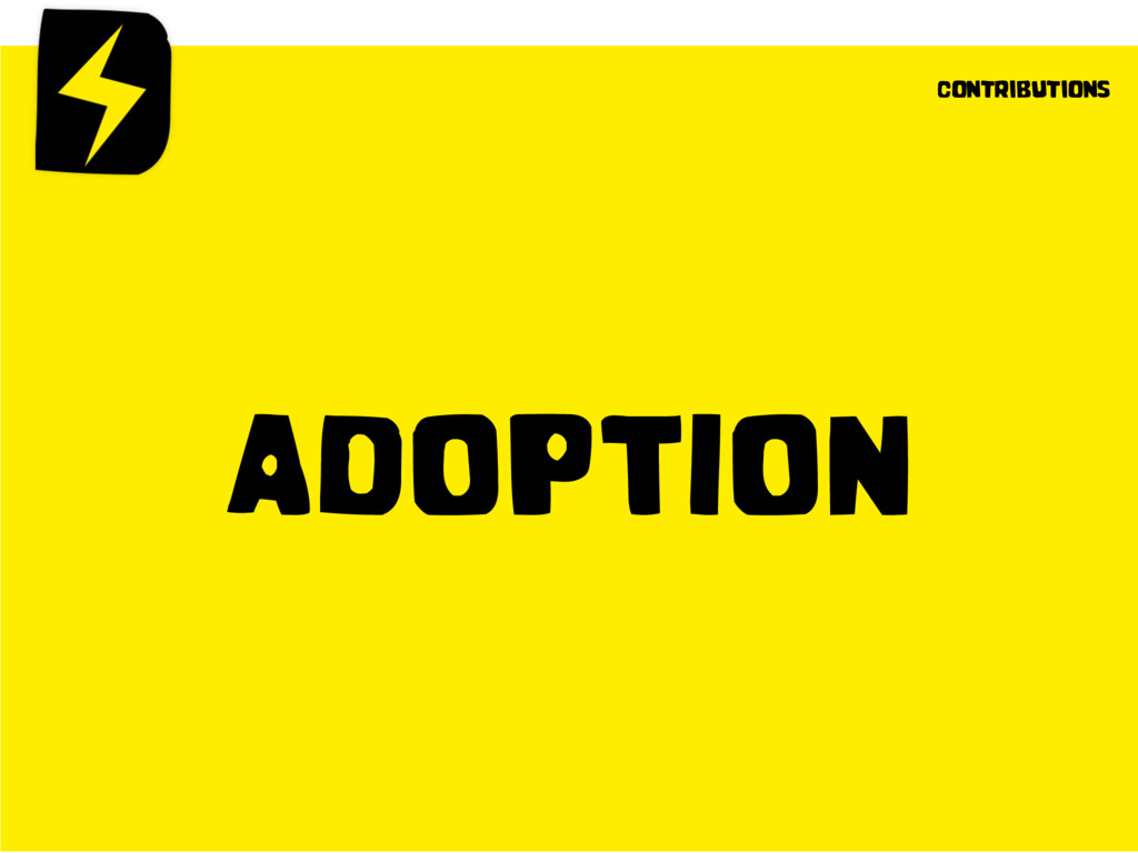 ADOPTION contributions