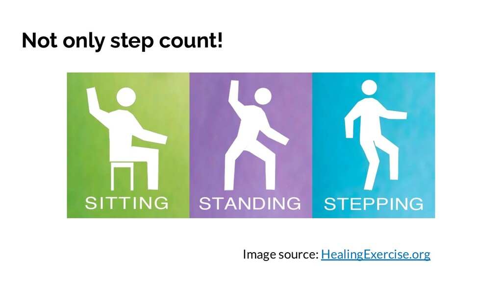 Not only step count! Image source: HealingExerc...