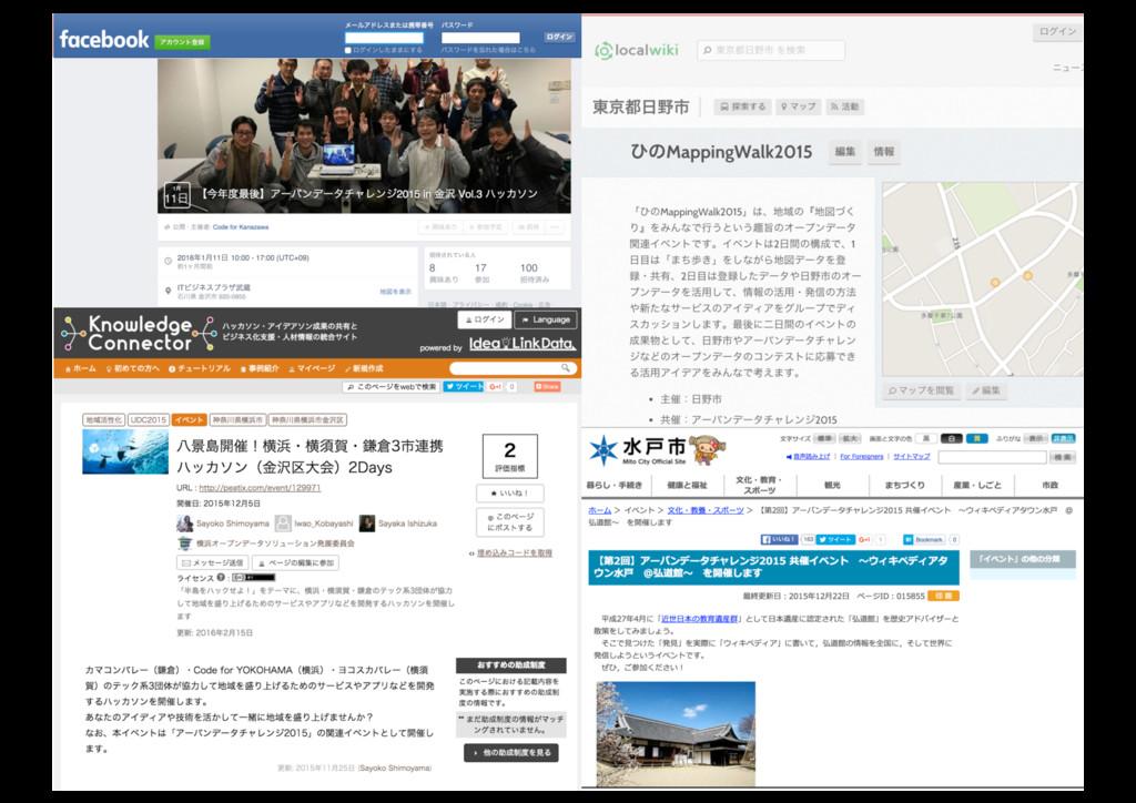 2016/03/22 日本地理学会「参加型GIS」シンポジウム@早稲田大学 38 38