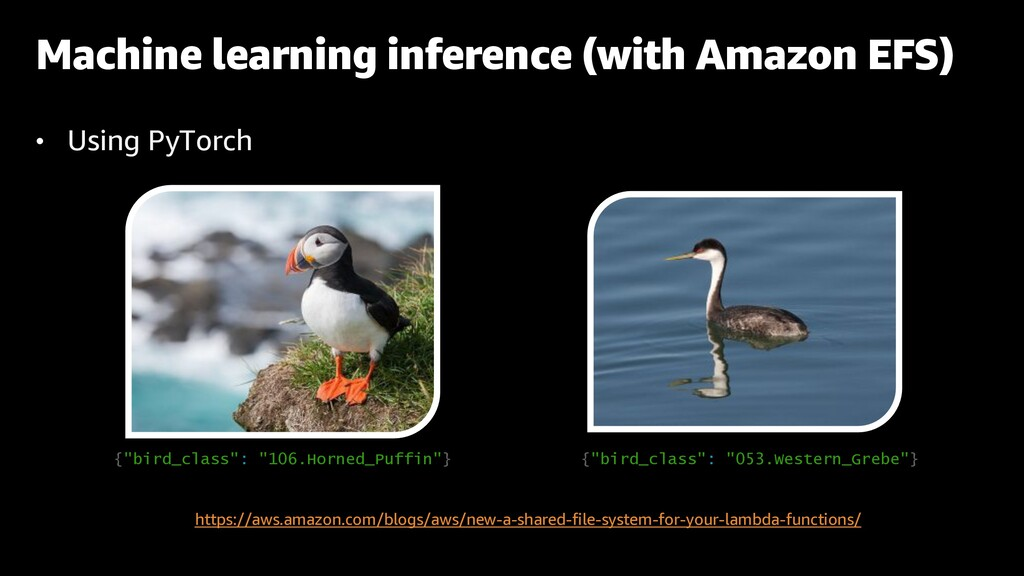 • Using PyTorch Machine learning inference (wit...