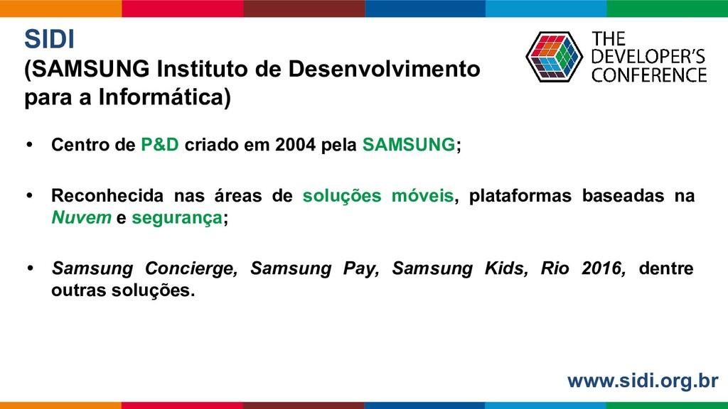 Globalcode – Open4education SIDI (SAMSUNG Insti...