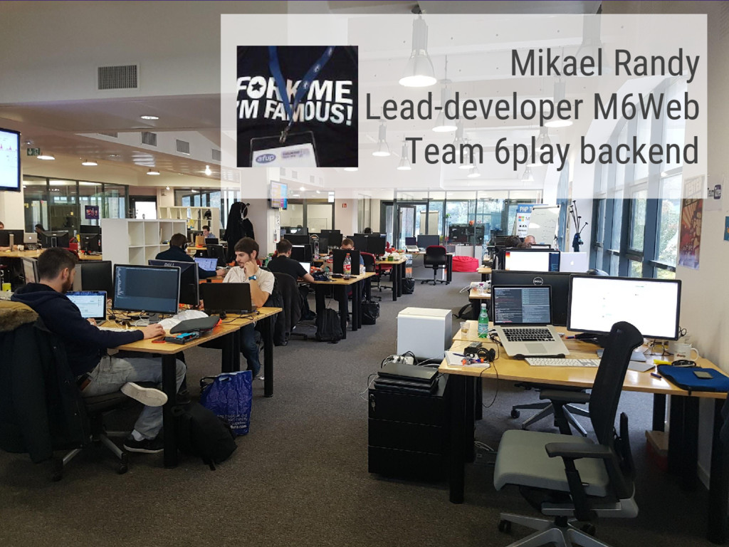 Mikael Randy Lead-developer M6Web Team 6play ba...