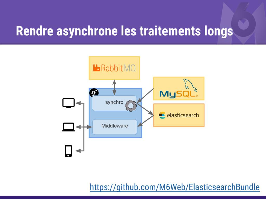 Rendre asynchrone les traitements longs Middlew...