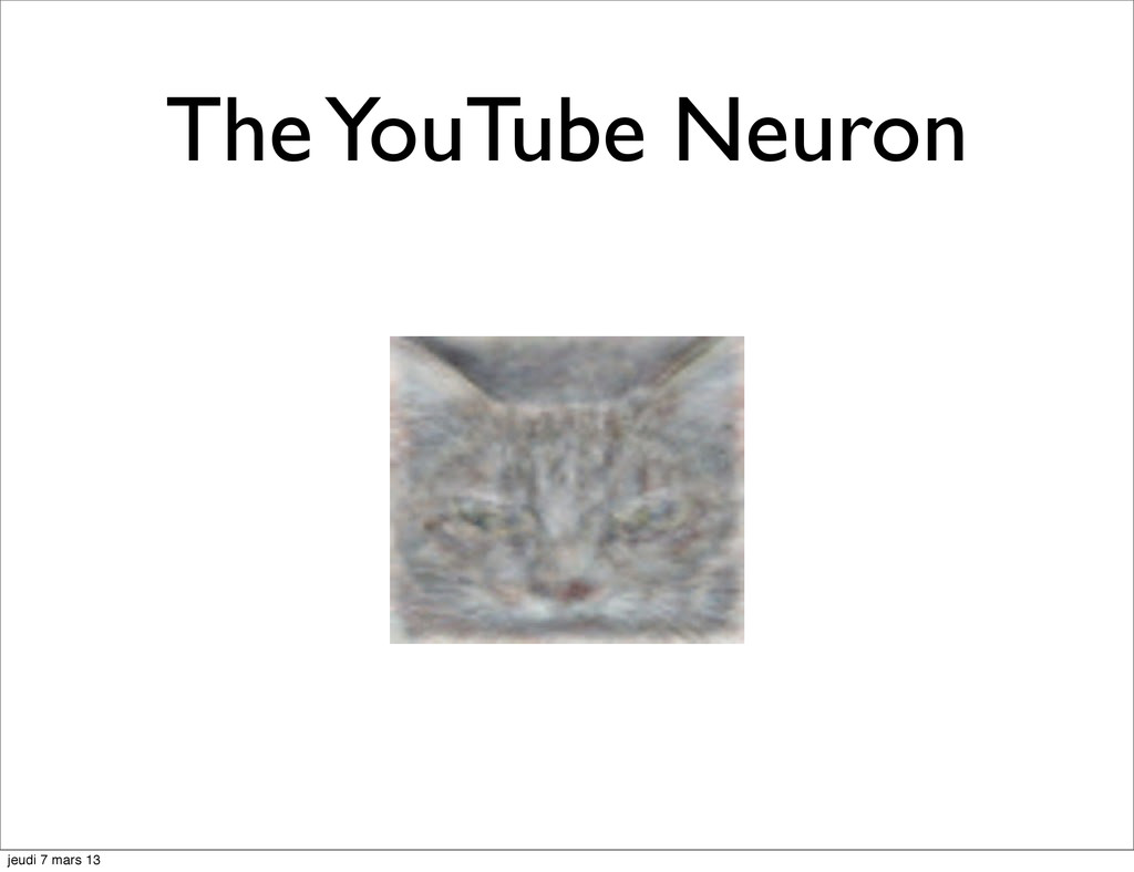 The YouTube Neuron jeudi 7 mars 13