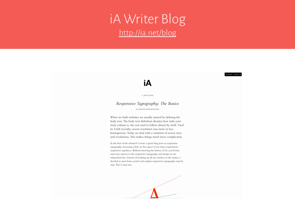 iA Writer Blog http://ia.net/blog