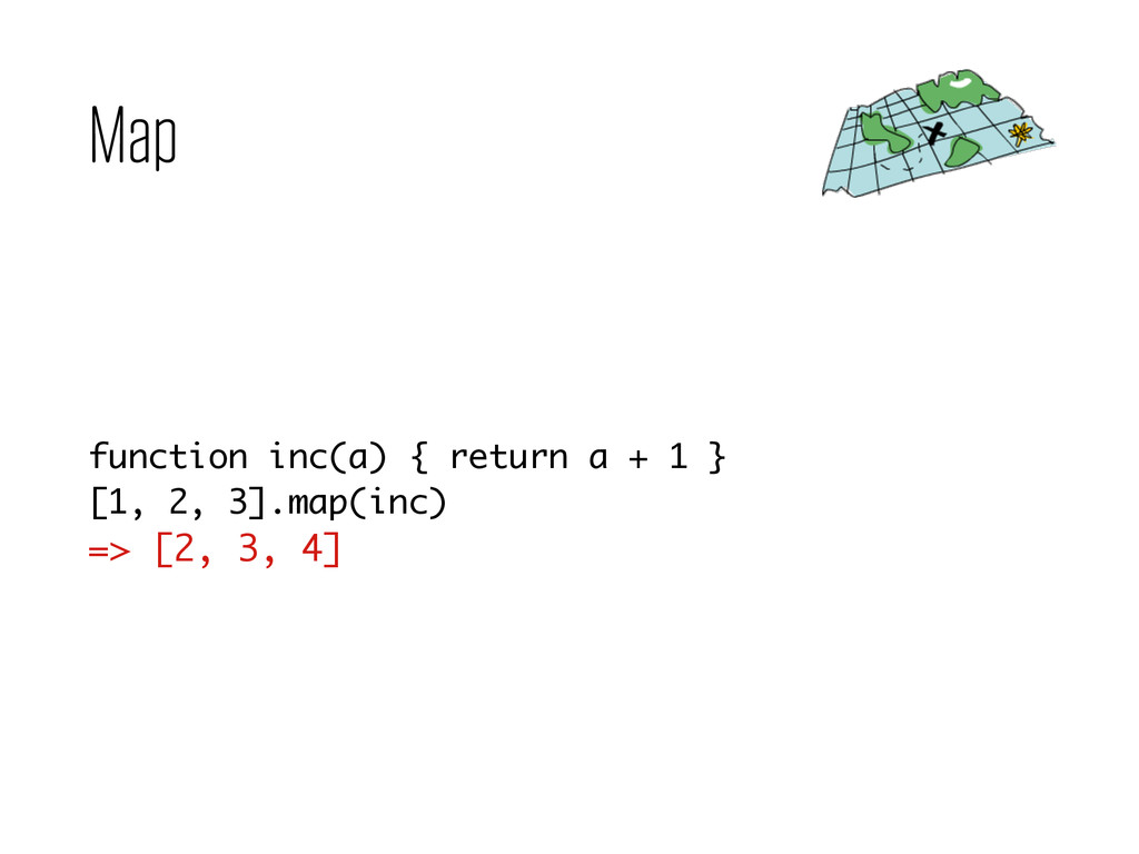 Map function inc(a) { return a + 1 } [1, 2, 3]....