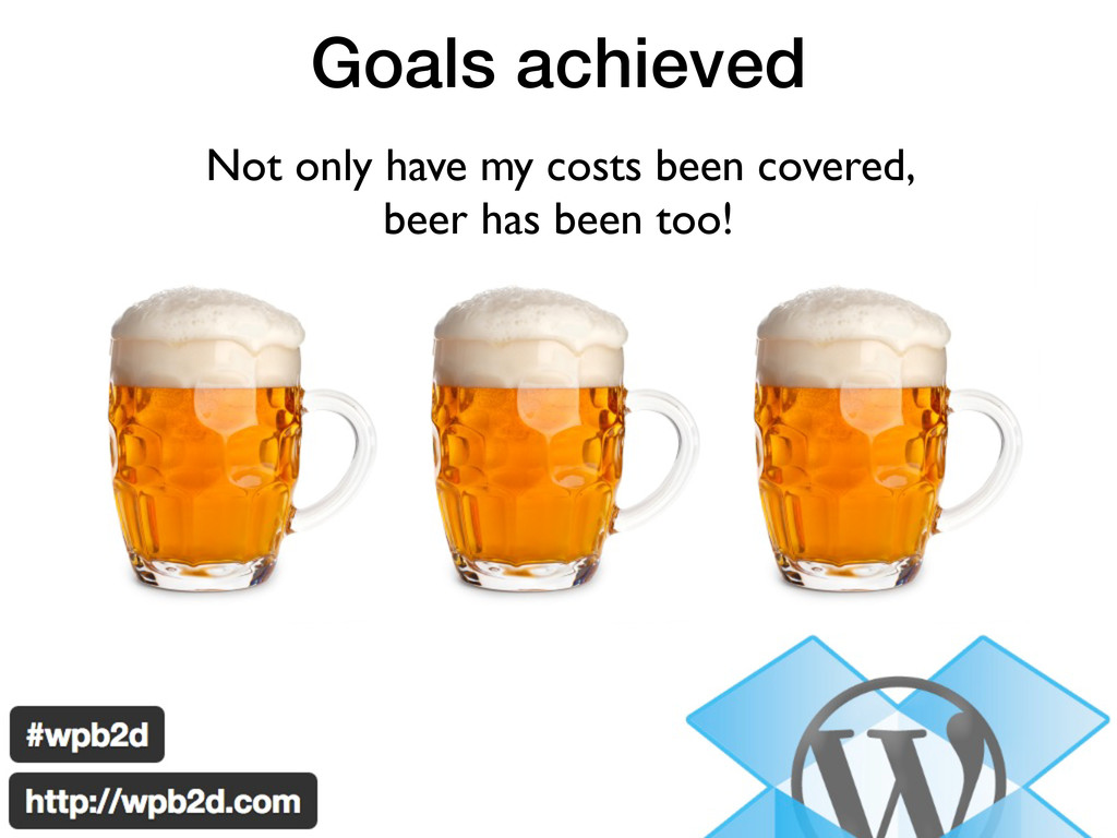 Goals achieved Not only have my costs been cove...