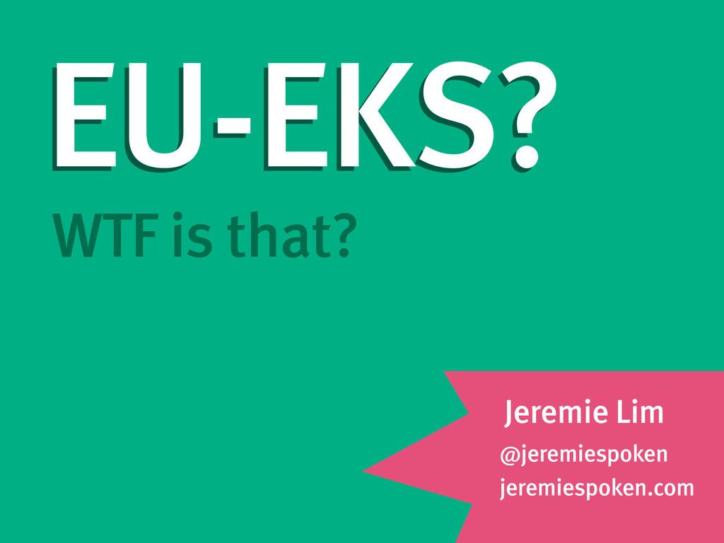 @jeremiespoken jeremiespoken.com WTF is that? J...