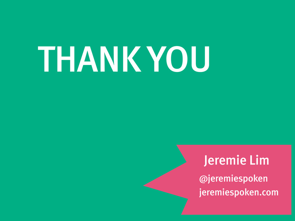 @jeremiespoken jeremiespoken.com THANK YOU Jere...