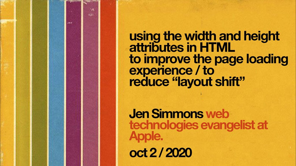Jen Simmons web technologies evangelist at Appl...
