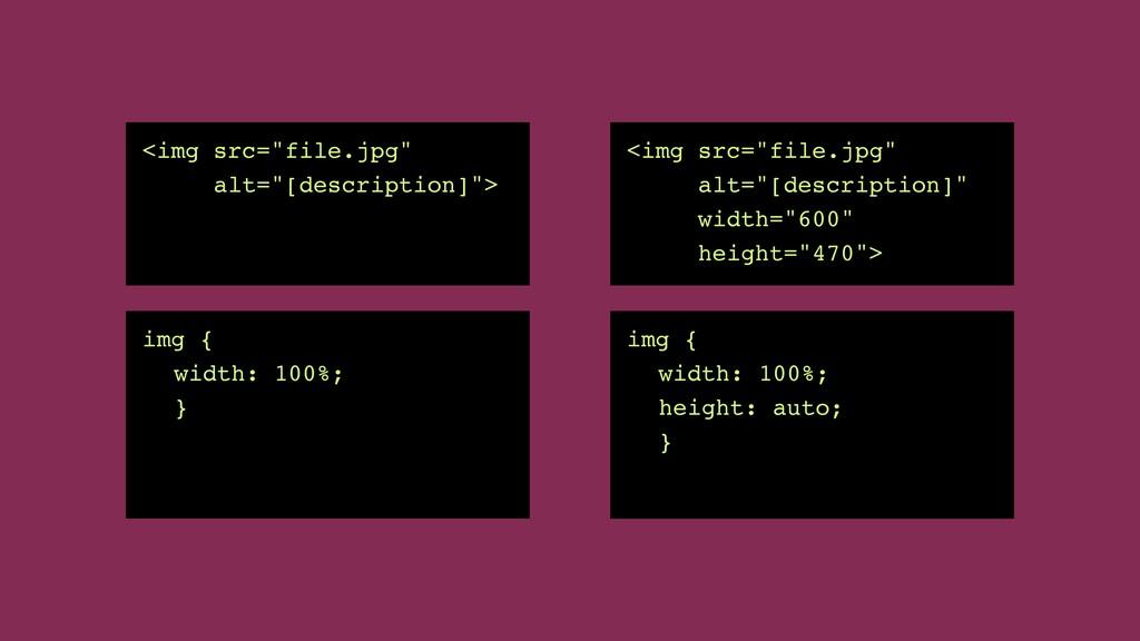 """<img src=""""file.jpg """"   alt=""""[description]""""> img..."""