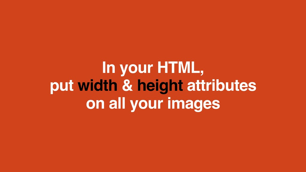 In your HTML, 