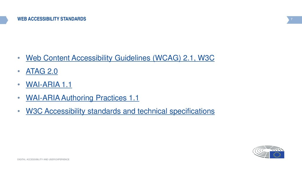 7 DIGITAL ACCESSIBILITY AND USER EXPERIENCE 7 W...