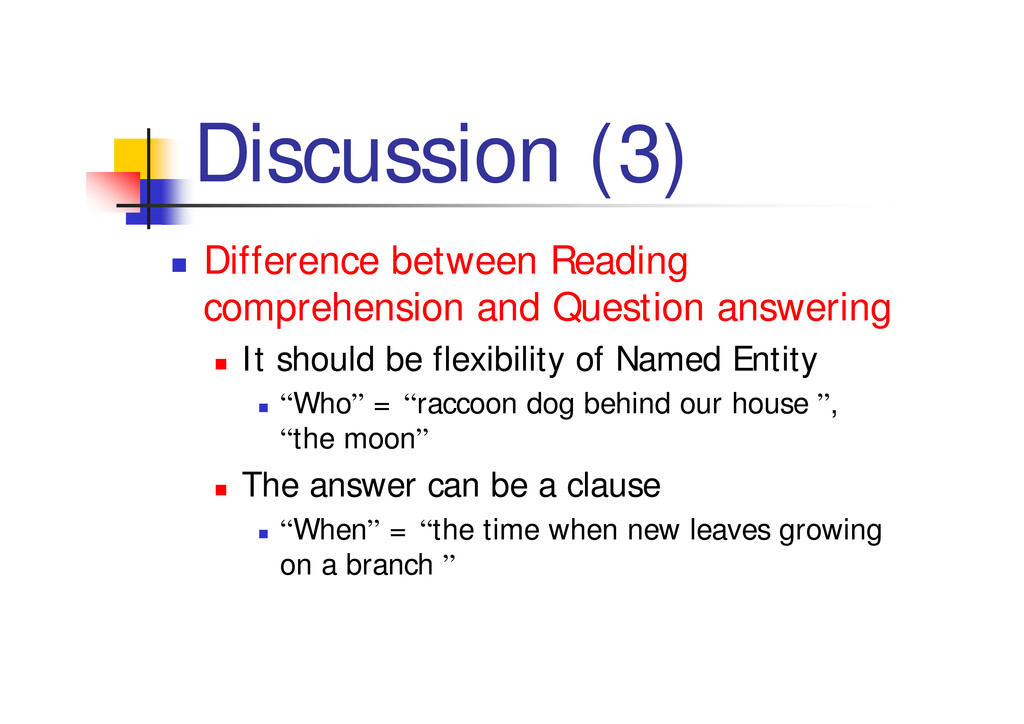 """Discussion (3) """" Difference between Reading com..."""
