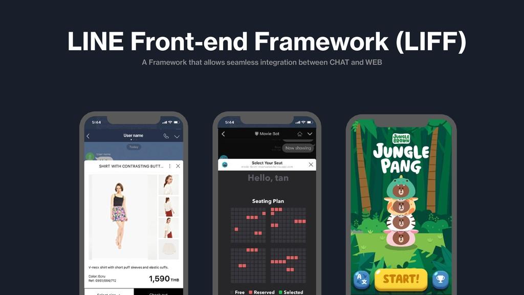 A Framework that allows seamless integration be...