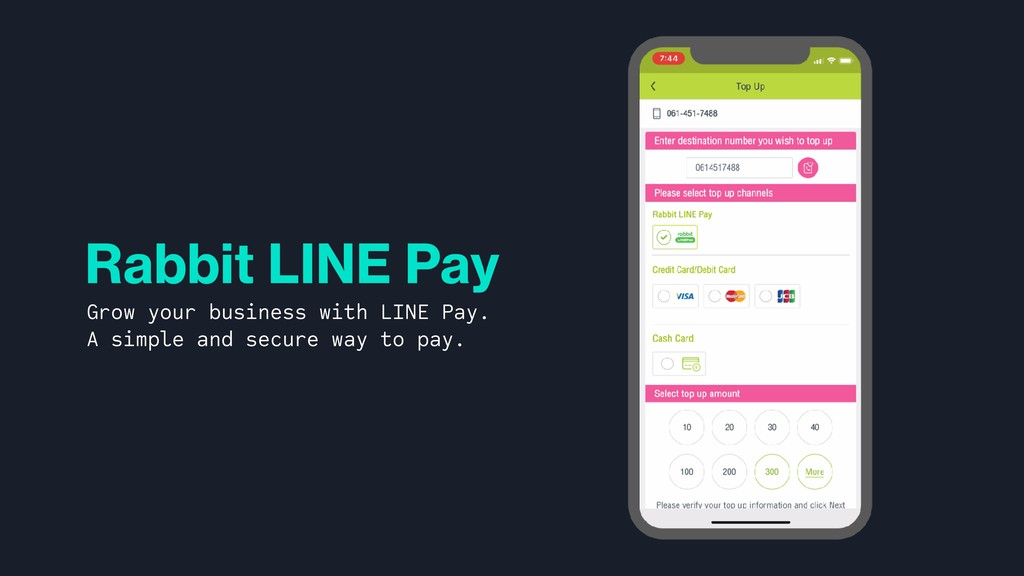 Rabbit LINE Pay Grow your business with LINE Pa...