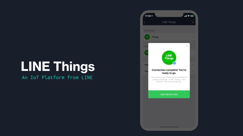 LINE Things An IoT Platform from LINE