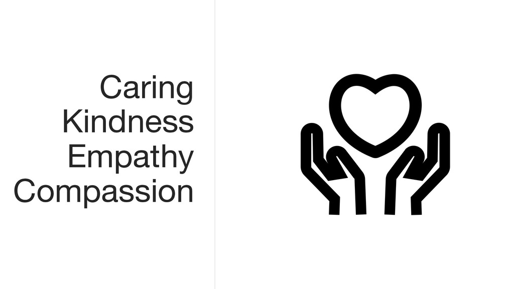 Caring Kindness Empathy Compassion