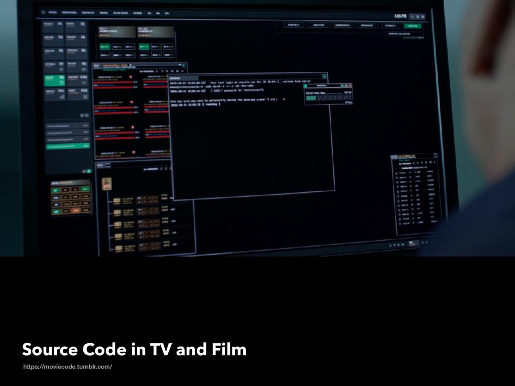 Source Code in TV and Film https://moviecode.tu...