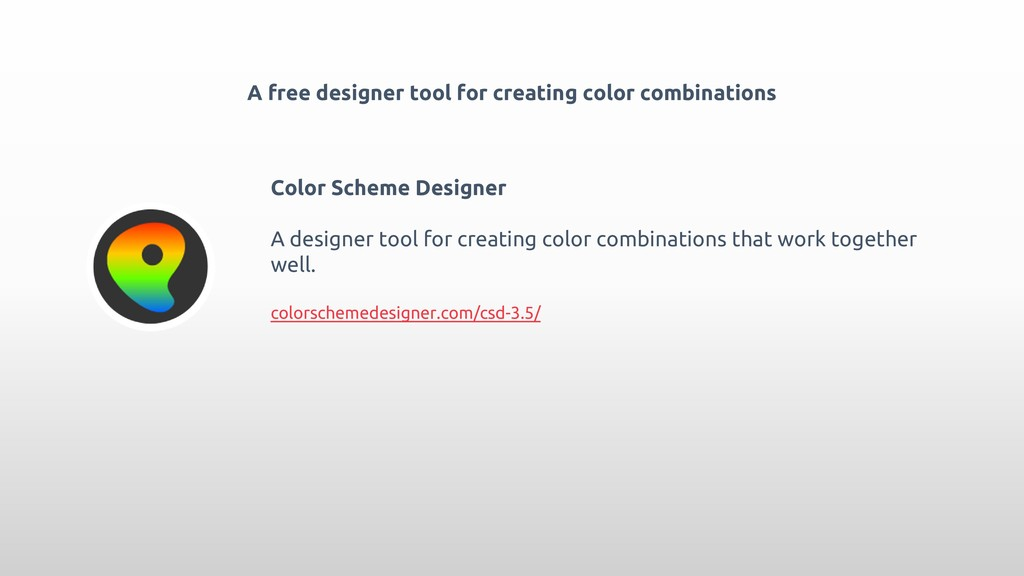 A free designer tool for creating color combina...