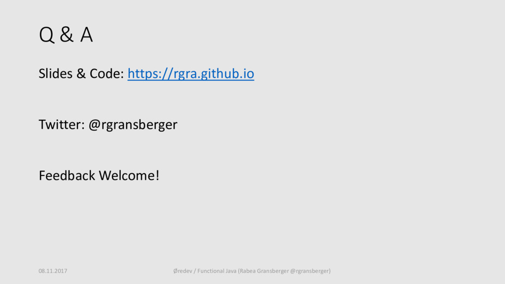 Q & A Slides & Code: https://rgra.github.io Twi...