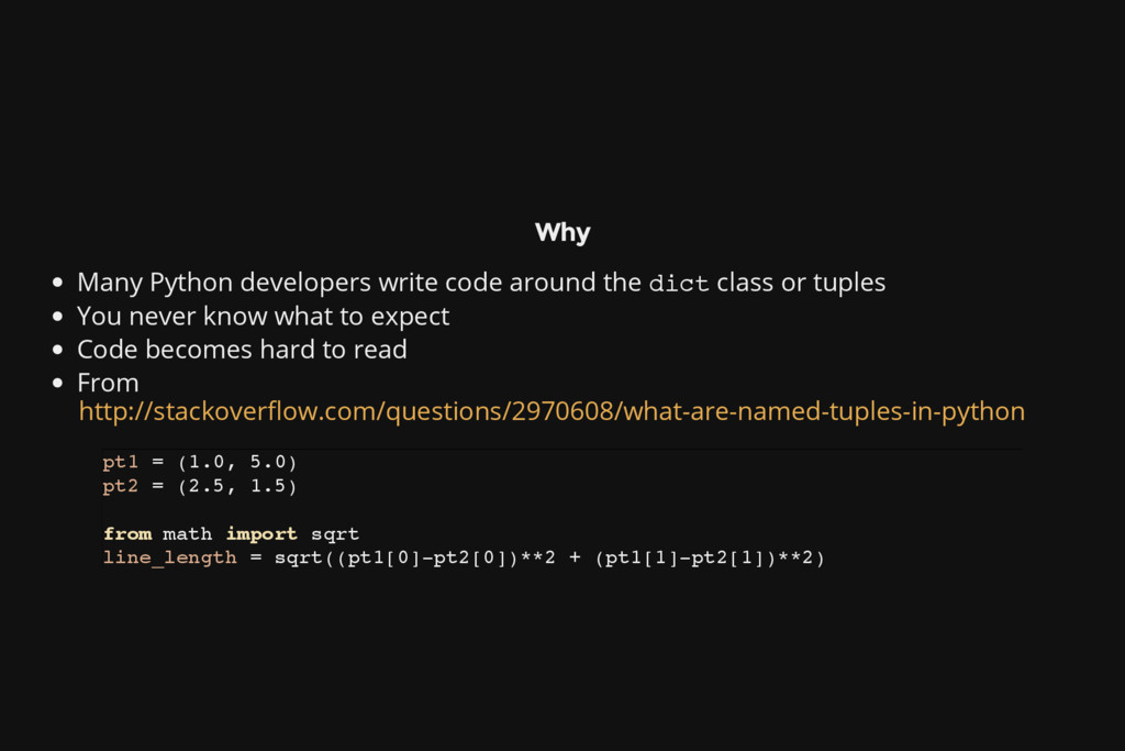 Why Many Python developers write code around th...