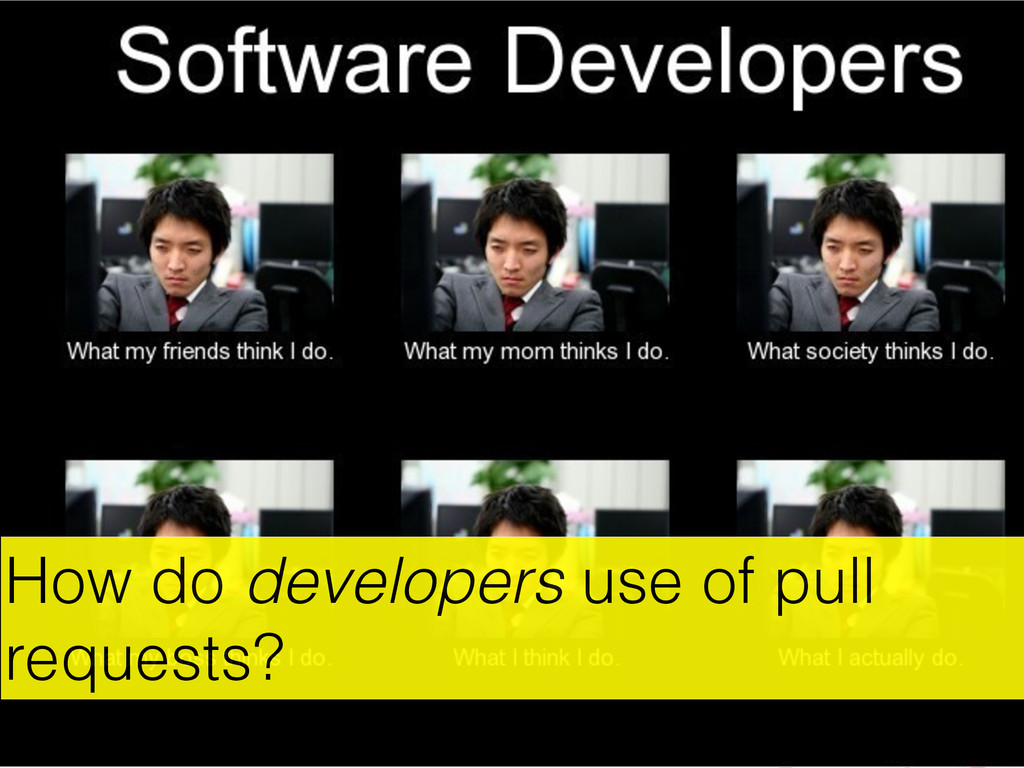 How do developers use of pull requests? http://...