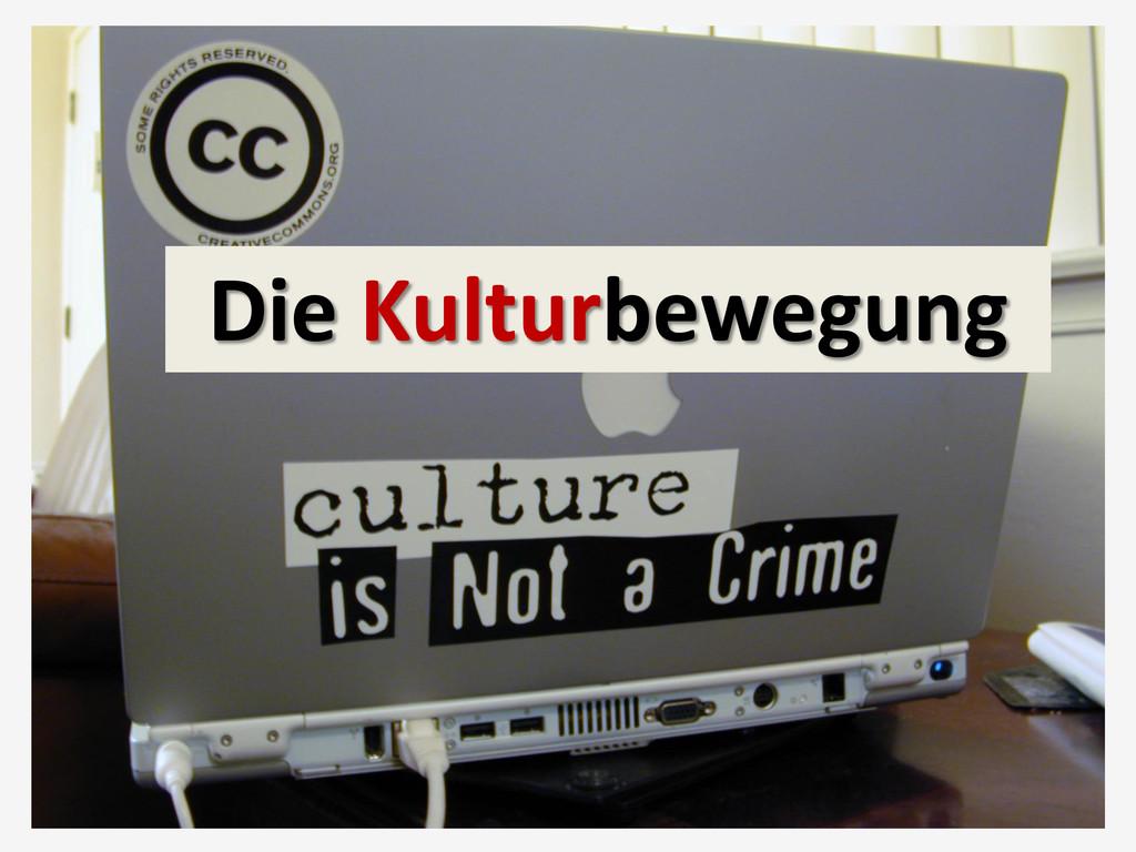 Die Kulturbewegung